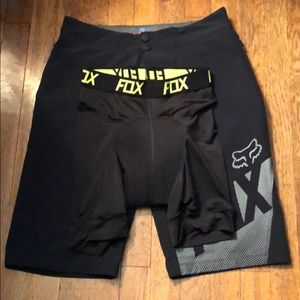 Fox Altitude mountain biking shorts (with liner)
